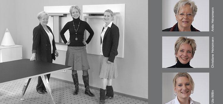 Anita Heinzmann, Christiane Heinzmann, Uta Willin